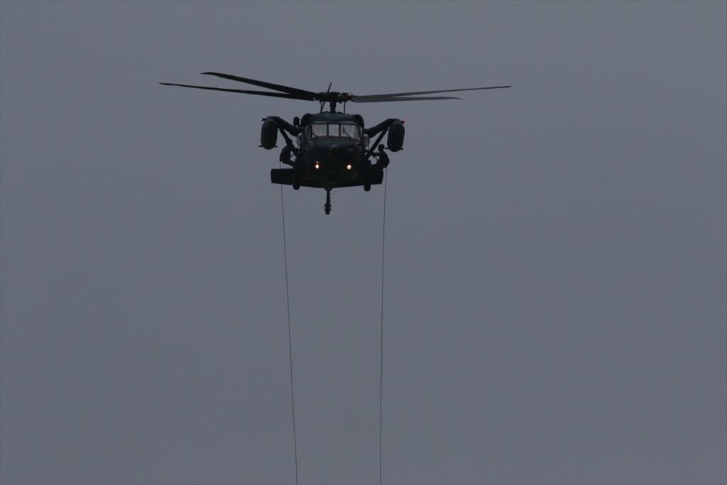 救難ヘリコプターUH-60Jの出動_11