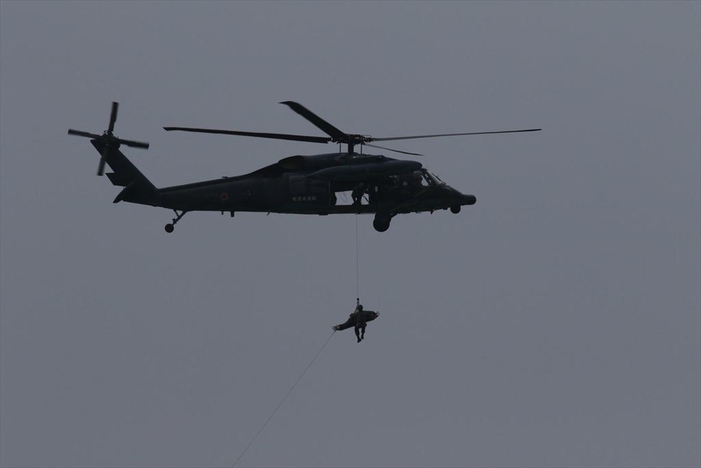 救難ヘリコプターUH-60Jの出動_19