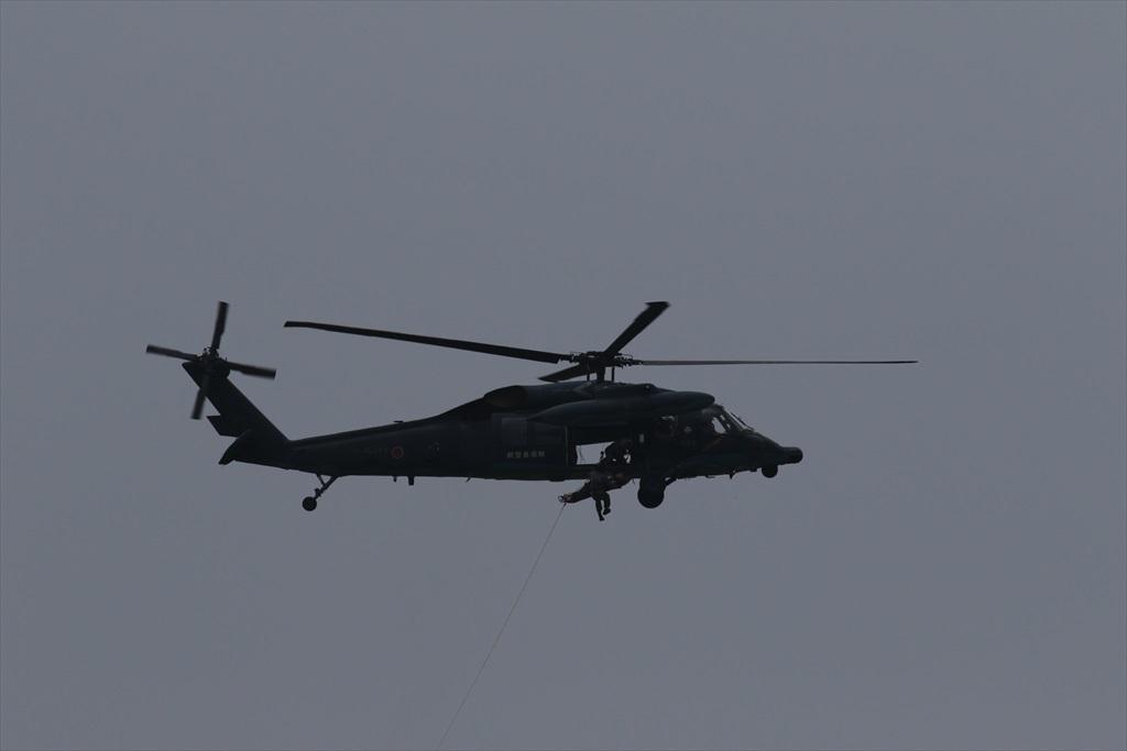 救難ヘリコプターUH-60Jの出動_25