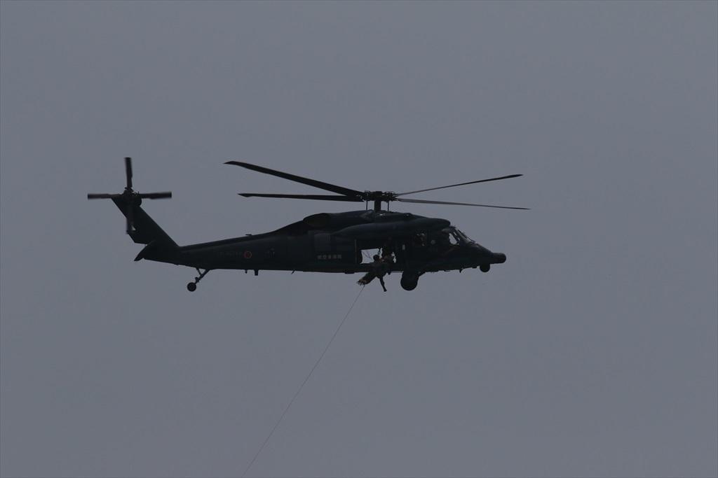 救難ヘリコプターUH-60Jの出動_26