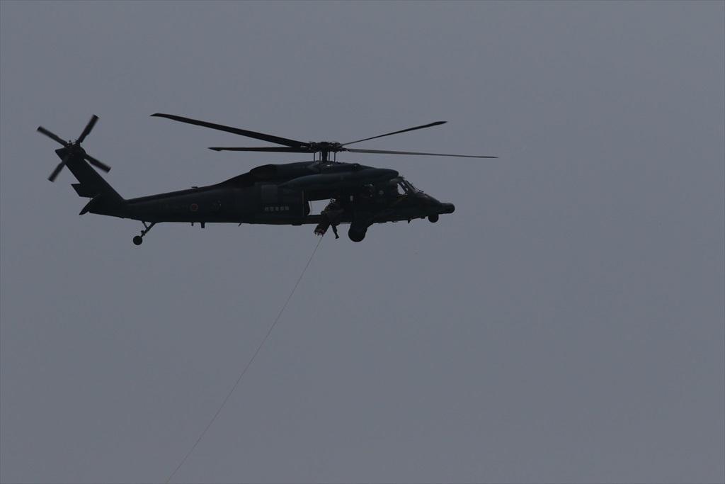 救難ヘリコプターUH-60Jの出動_27