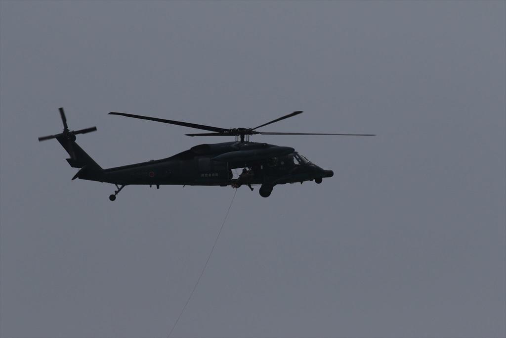 救難ヘリコプターUH-60Jの出動_28