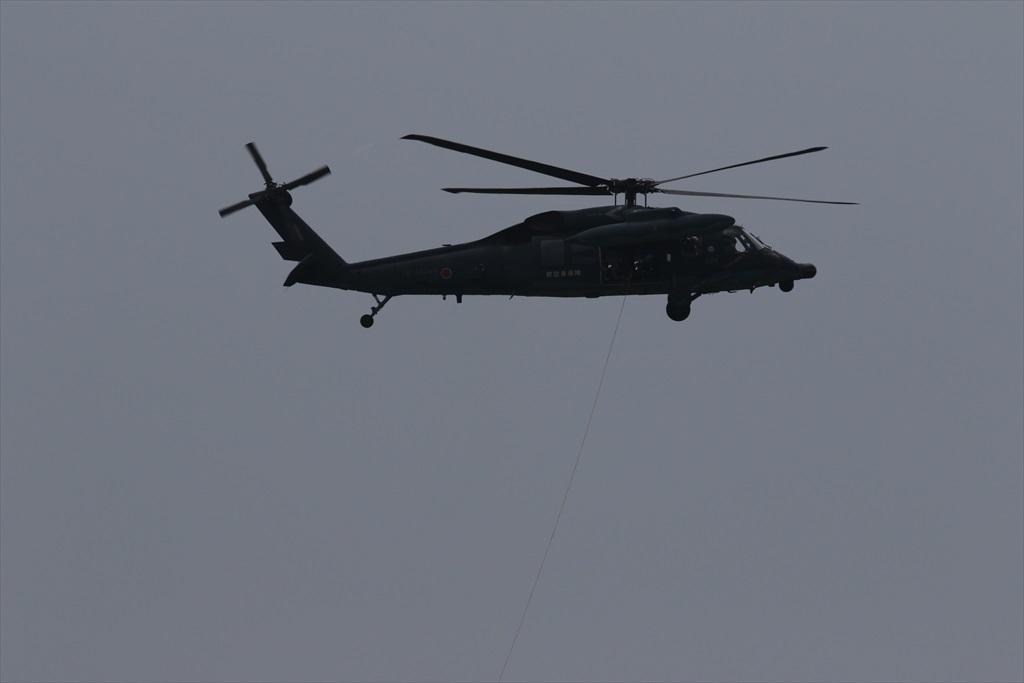 救難ヘリコプターUH-60Jの出動_29
