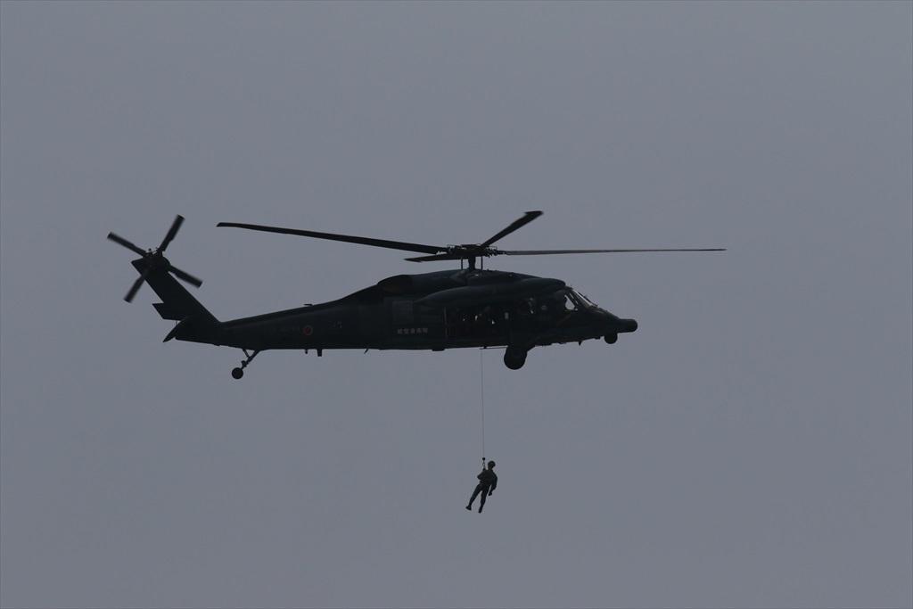 救難ヘリコプターUH-60Jの出動_30