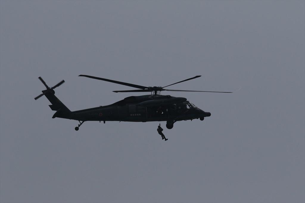 救難ヘリコプターUH-60Jの出動_31