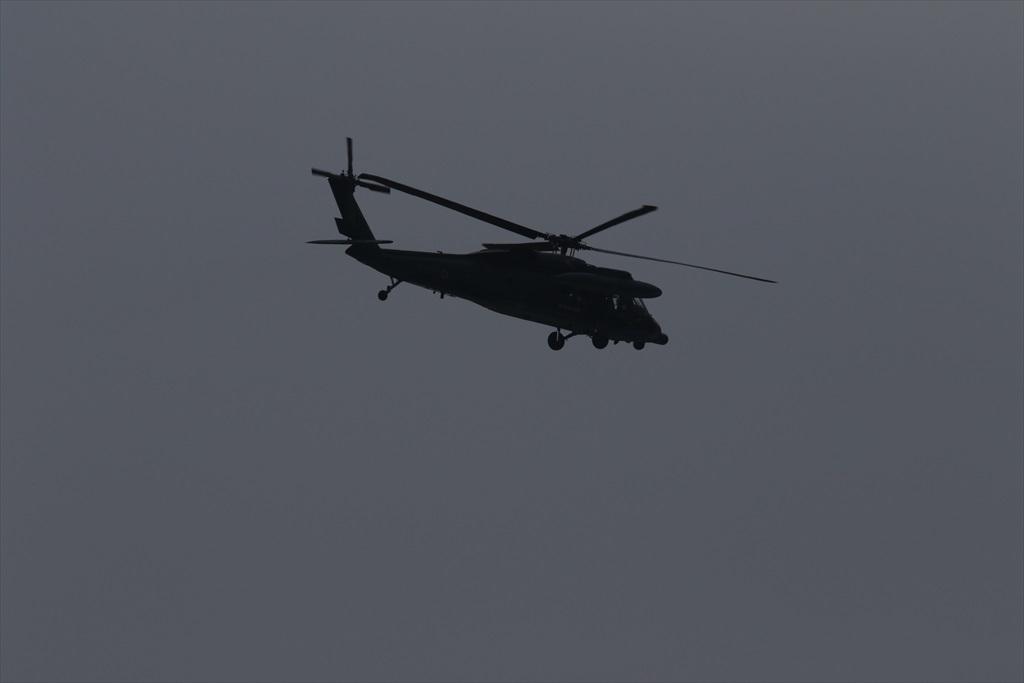 救難ヘリコプターUH-60Jの出動_34