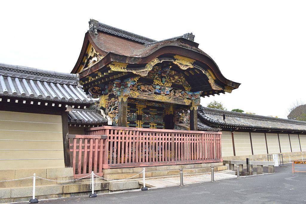 国宝の唐門