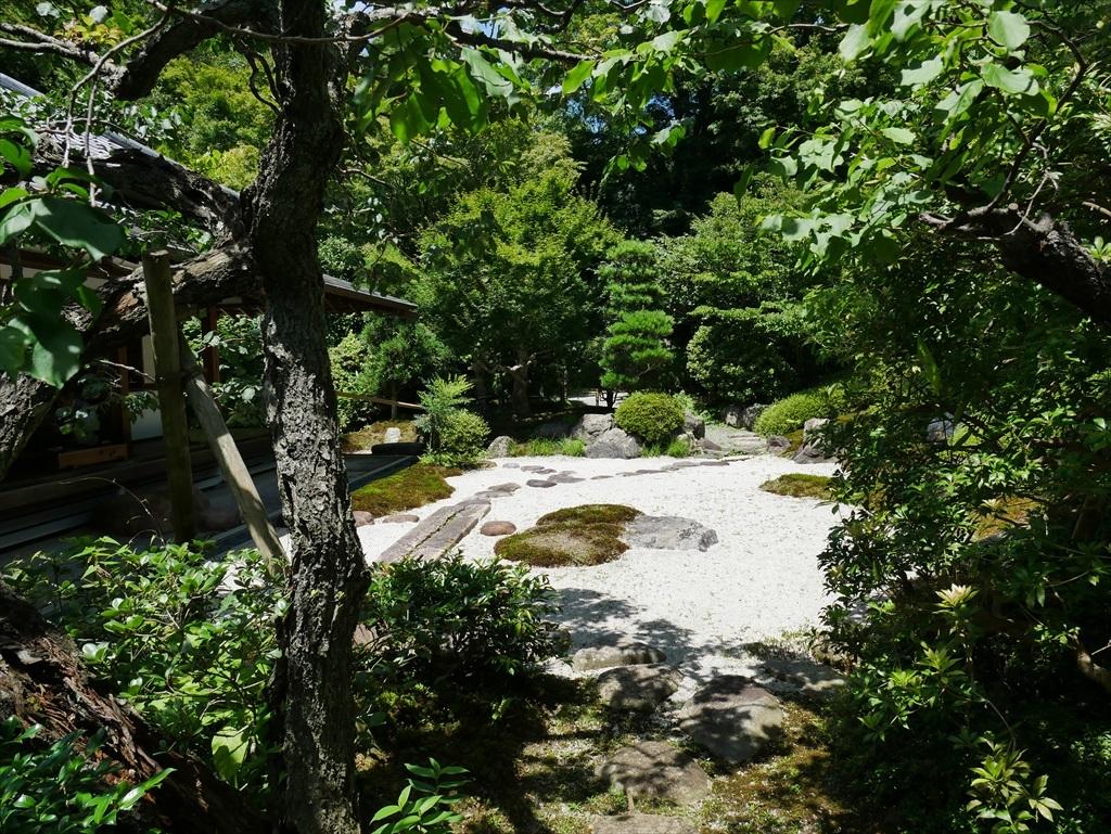 喜泉庵(きせんあん)と枯山水の庭_3