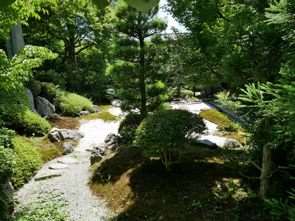 喜泉庵(きせんあん)と枯山水の庭_7