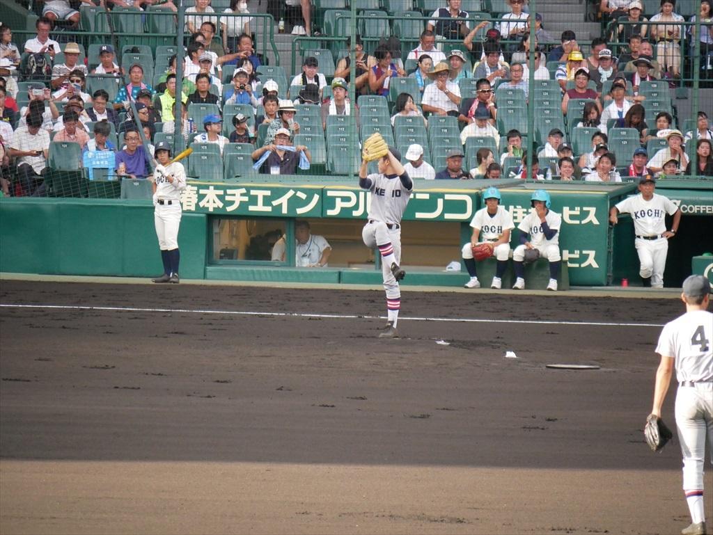 先発した生井君の投球フォーム_2