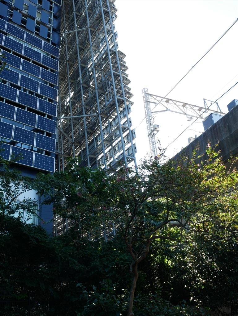 東京工業大学の校舎が近くに見えてきた_4
