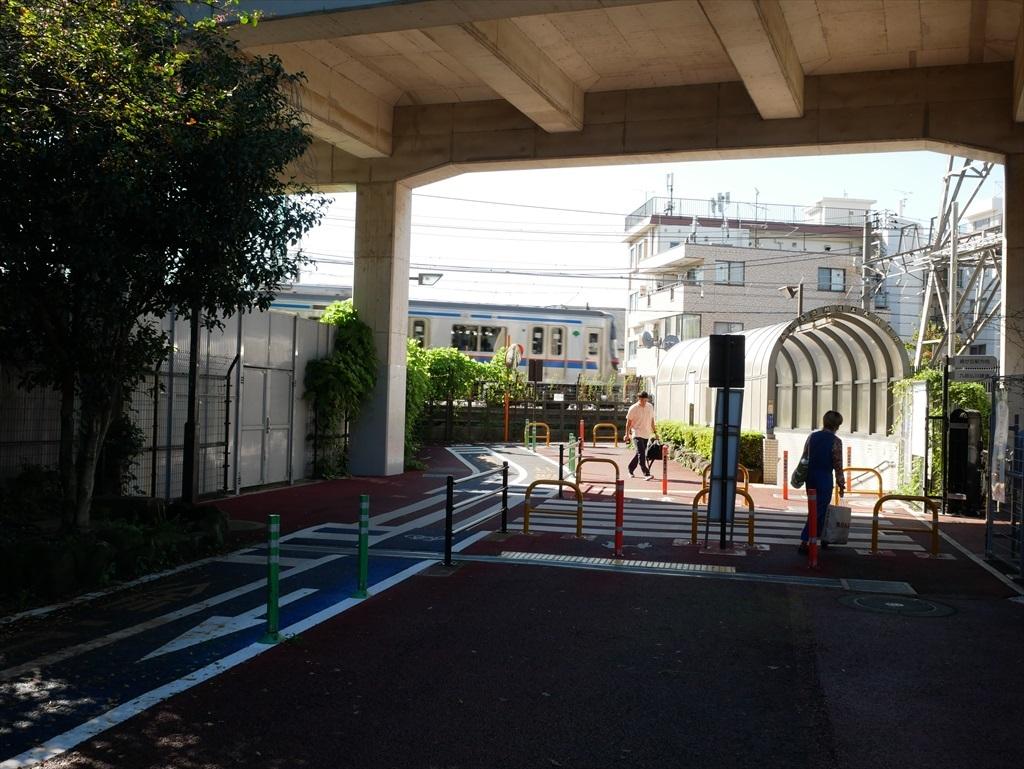 東京工業大学の校舎が近くに見えてきた_5