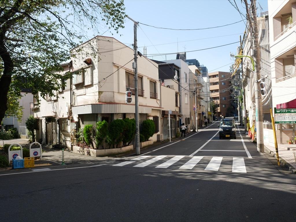 大井町線の緑が丘駅前_1