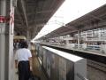 180812京都駅から新幹線