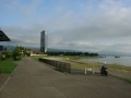 180811大津の湖岸~なぎさ公園をのんびり進む