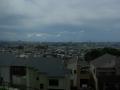 180815近鉄の車窓、石切付近から大阪市街方面