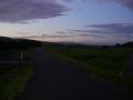 180825木津川CRで夜明け