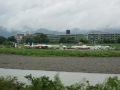 180901桂川の河川敷で防災訓練