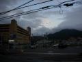 181006亀岡市街で一時雨があがる