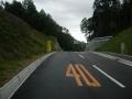181006新しい道を左に入り神峯山寺方面へ