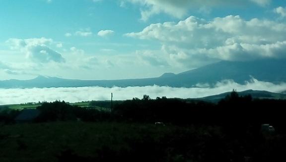 雲海の浅間高原