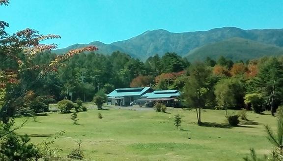 秋のバラギ高原キャンプ場