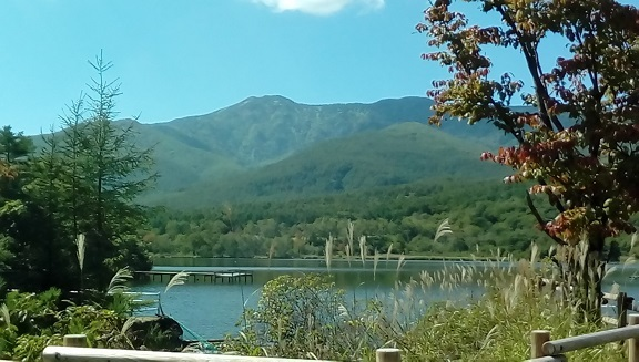 秋のバラギ湖&四阿山