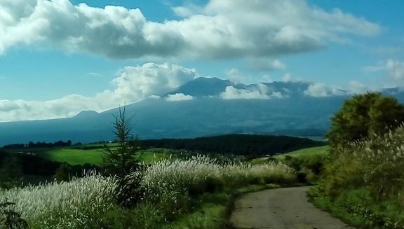 秋のバラギ高原