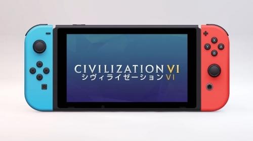 Switch版『シヴィライゼーションVI』国内でも2018年11月16日にDL版、パッケージ版が12月6日発売決定!
