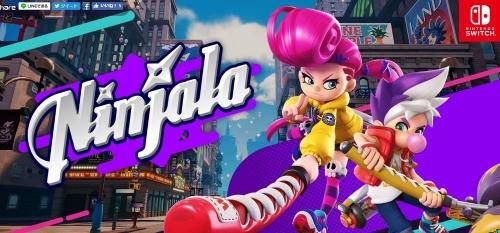ガムで戦うガンホーのSwitch向け対戦ゲーム『Ninjala(ニンジャラ)』最新ゲームプレイ映像!
