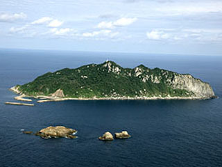 世界遺産の宗像沖ノ島