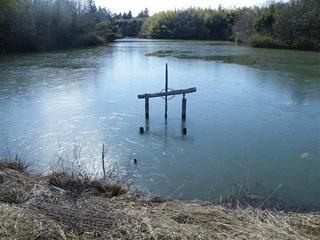 緊急点検が行われた滋賀県内の溜め池