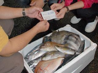 釣果と引き替えにクーポンを受け取る「ツッテ熱海」