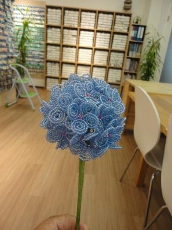 紫陽花トピアリー①