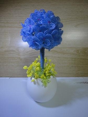 紫陽花トピアリー④