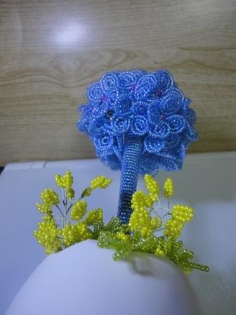 紫陽花トピアリー③
