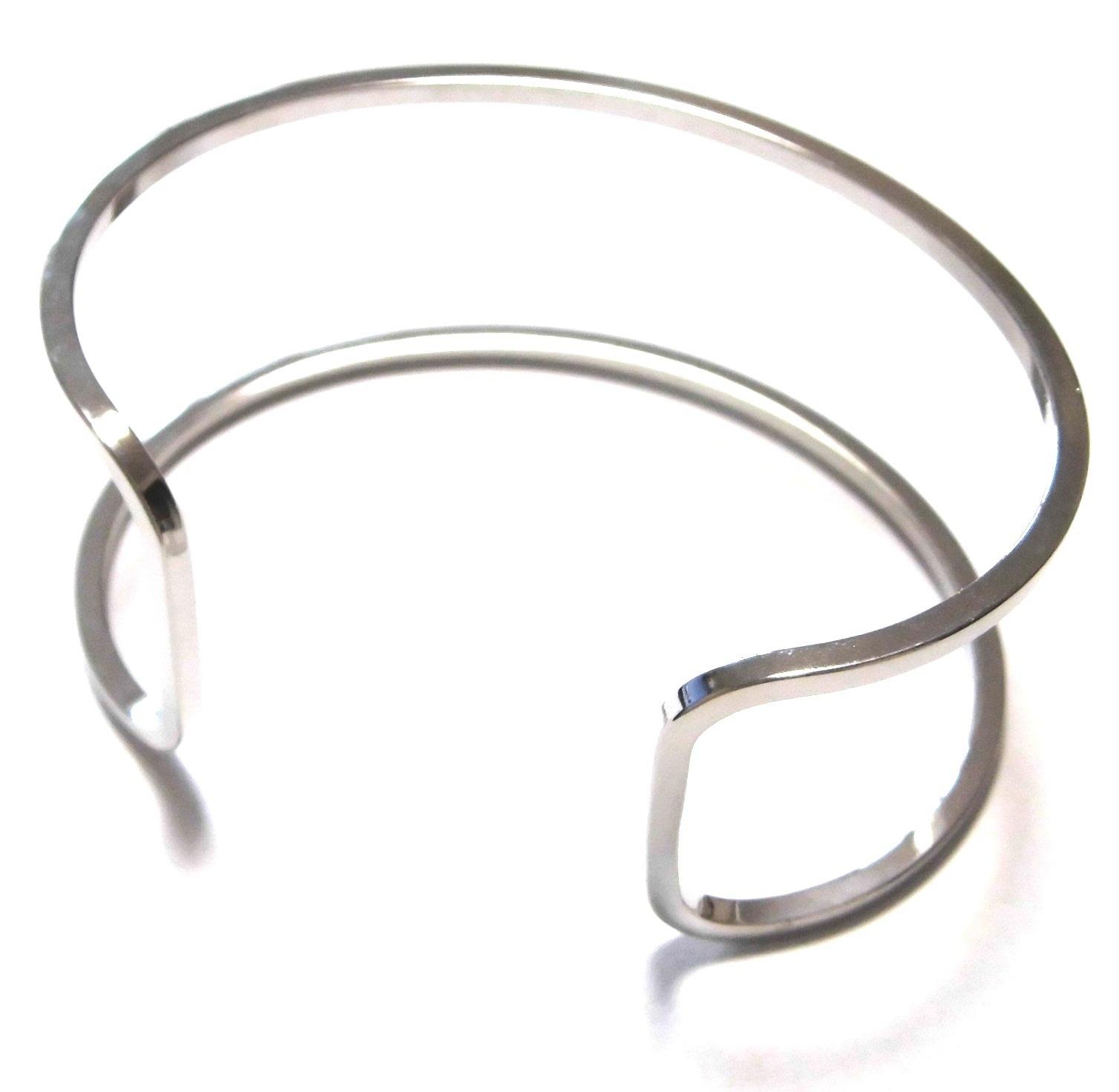 Wire Open Cuff silver (4)
