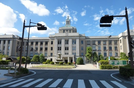滋賀県庁1