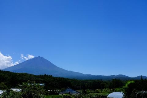 03R139から富士山