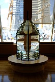13灯台のレンズ