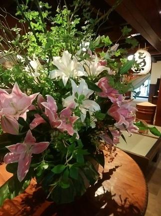 うかい亭 お花