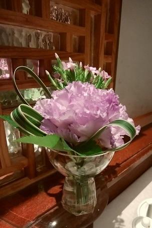 富麗華 お花