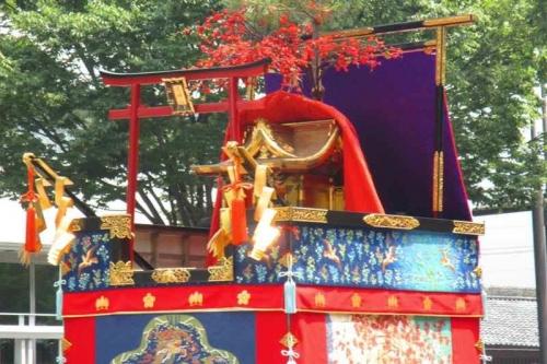 2018-8-10祇園祭前祭り綾傘鉾
