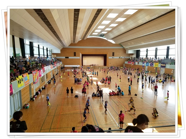 ソフトバレー大会2-1