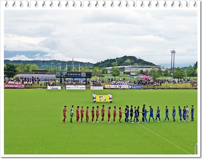サッカー決勝1-1