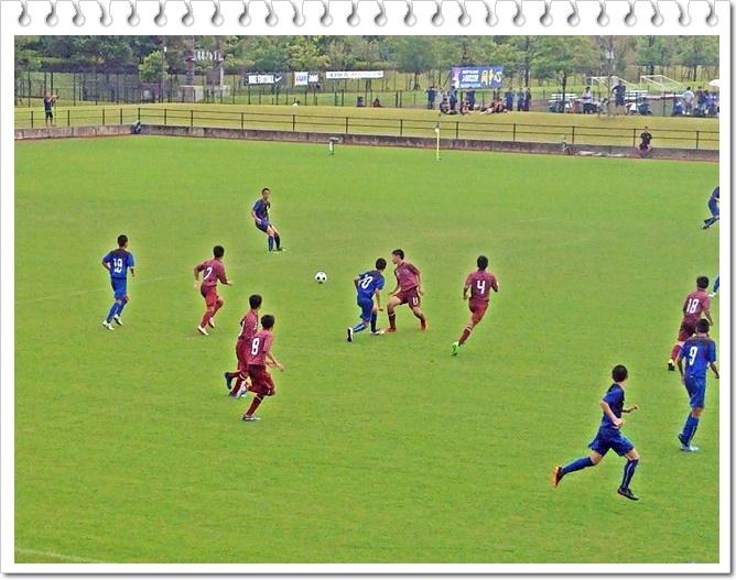 サッカー決勝1-5