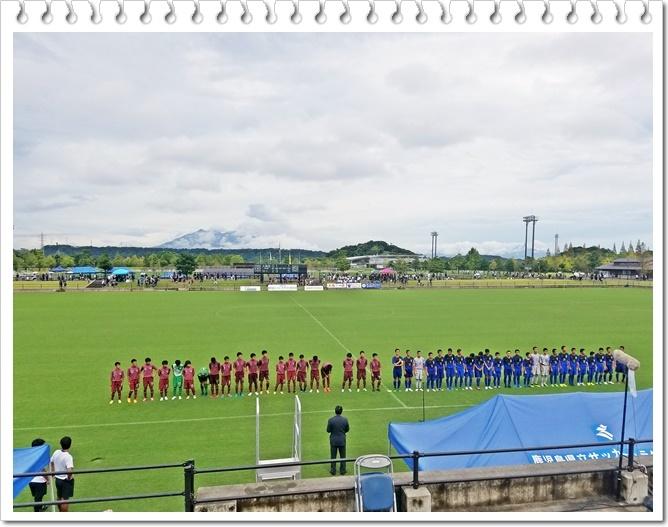 サッカー決勝1-6
