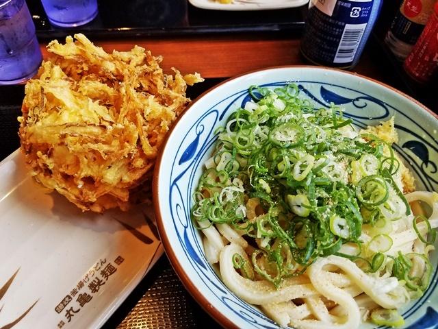 お昼に丸亀製麺1