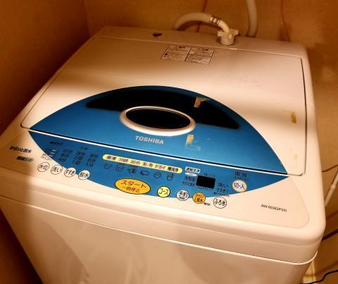 兄の洗濯機