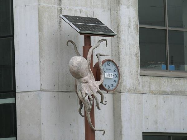 14蛸時計